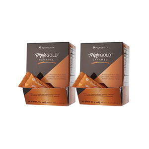 Picture of Plus One Promo - 2 Boxes Triple Gold Caramel Squares (20ct)